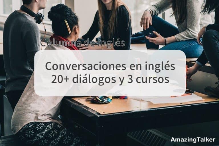 Conversaciones En Inglés 20 Diálogos Y 3 Cursos Amazingtalker